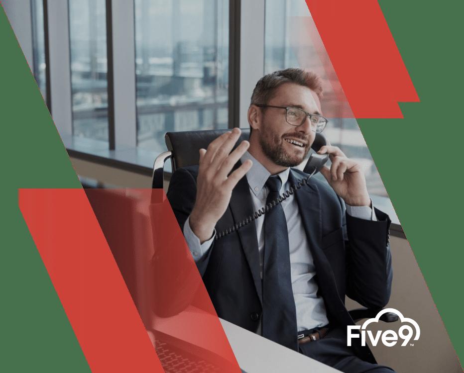 Sin cables ni servidores, ofrecemos un servicio de atención ininterrumpido con Five9